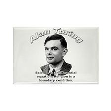 Alan Turing 01 Rectangle Magnet (10 pack)