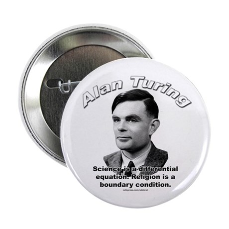 "Alan Turing 01 2.25"" Button (100 pack)"