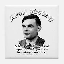 Alan Turing 01 Tile Coaster