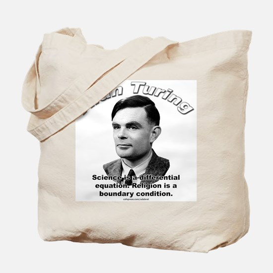Alan Turing 01 Tote Bag