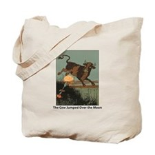 Cow Jump Tote Bag