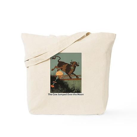 Cow Jump Tote Bag