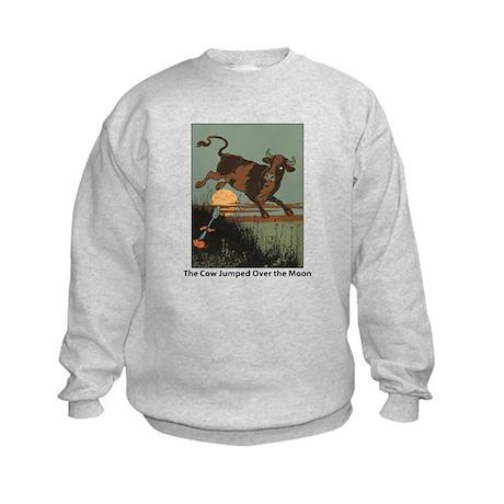 Cow Jump Kids Sweatshirt