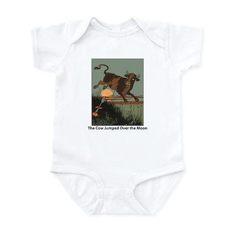 Cow Jump Infant Bodysuit