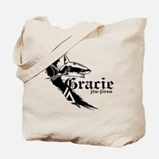 Gracie Jiu-Jitsu 2 WHT Tote Bag