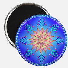 "Flowers mandala 2.25"" Magnet (100 pack)"