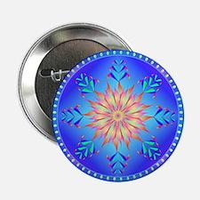 "Flowers mandala 2.25"" Button (10 pack)"