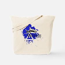 Gracie Jiu-Jitsu 4 WHT Tote Bag