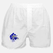 Gracie Jiu-Jitsu 4 WHT Boxer Shorts