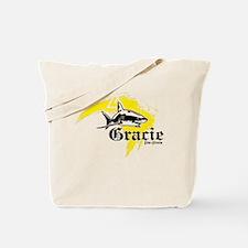 Gracie Jiu-Jitsu 5 WHT Tote Bag