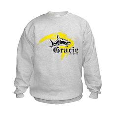 Gracie Jiu-Jitsu 5 WHT Sweatshirt