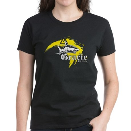 Gracie Jiu-Jitsu 5 BLK Women's Dark T-Shirt