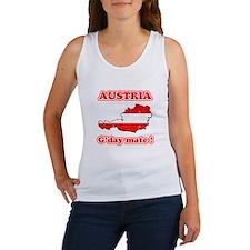 Austria - g'day mate Women's Tank Top