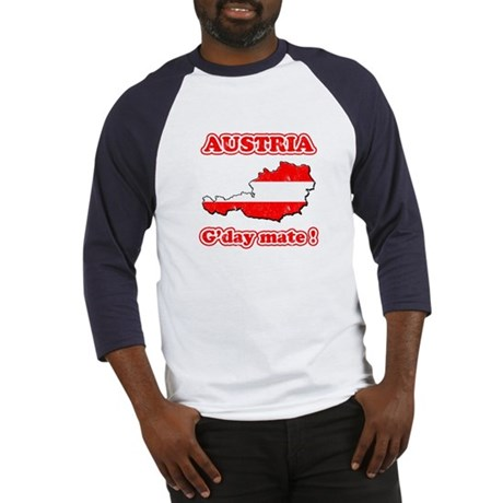 Austria - g'day mate Baseball Jersey