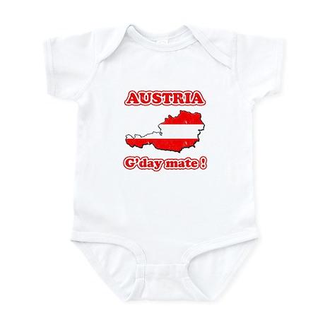 Austria - g'day mate Infant Bodysuit