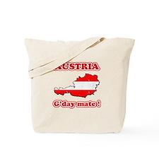 Austria - g'day mate Tote Bag