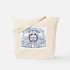 Block Party Vball Tote Bag