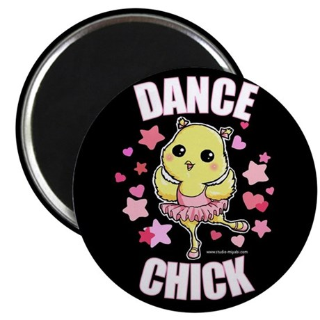 DANCE CHICK Magnet
