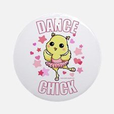 DANCE CHICK Ornament (Round)