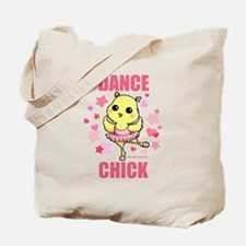 DANCE CHICK Tote Bag
