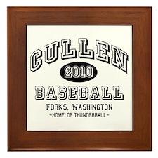 Cullen Baseball 2010 Framed Tile