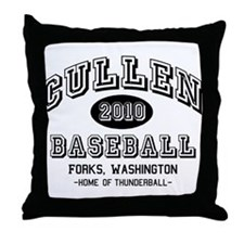 Cullen Baseball 2010 Throw Pillow