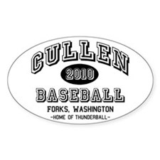 Cullen Baseball 2010 Oval Decal