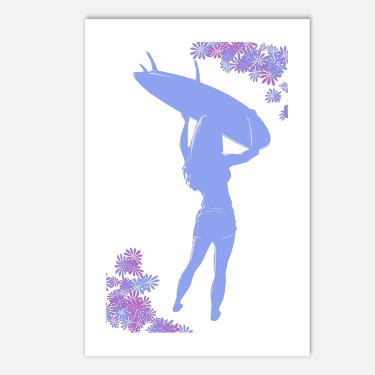 Surfer Postcards (Package of 8)