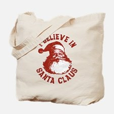 I Believe In Santa Claus Tote Bag