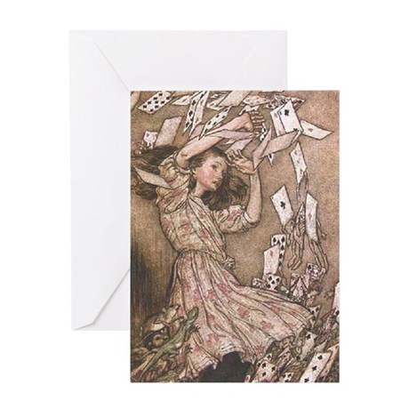 Cover of Early Edition of Alice Greeting Card