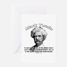 Mark Twain 02 Greeting Cards (Pk of 10)