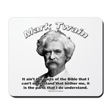 Mark Twain 02 Mousepad