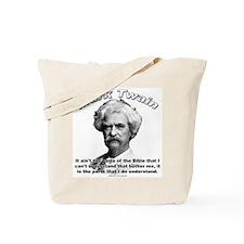 Mark Twain 02 Tote Bag