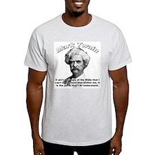 Mark Twain 02 Ash Grey T-Shirt