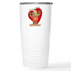 Eddie Elephant VALENTINE Travel Mug