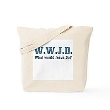 WWJD - Christian Tote Bag