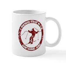 I Skied The K-12 On One Ski Mug