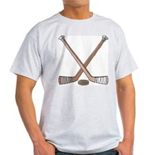 Hockey Sticks Ash Grey T-Shirt