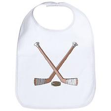 Hockey Sticks Bib