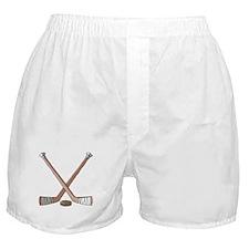 Hockey Sticks Boxer Shorts