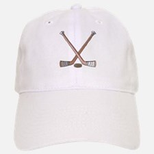 Hockey Sticks Baseball Baseball Cap
