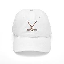 Hockey Sticks Baseball Cap