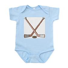 Hockey Sticks Infant Creeper