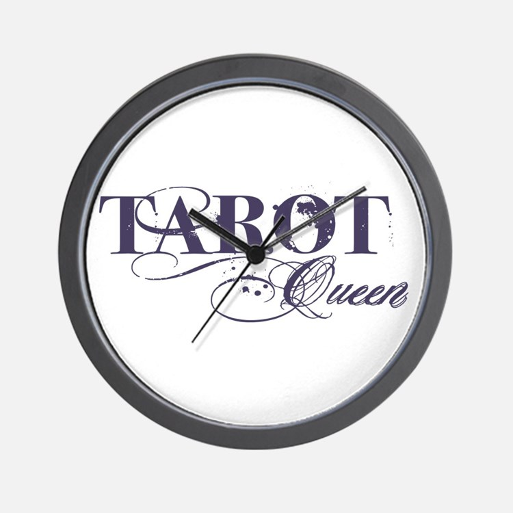 Tarot Queen Wall Clock