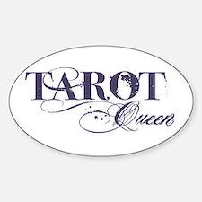 Tarot Queen Oval Decal