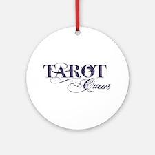 Tarot Queen Ornament (Round)