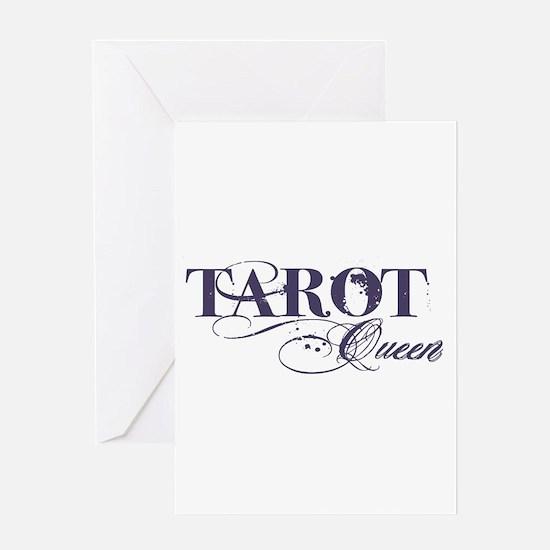 Tarot Queen Greeting Card