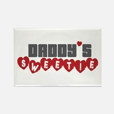 Daddy's Sweetie Rectangle Magnet