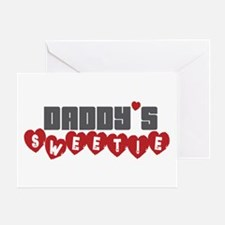 Daddy's Sweetie Greeting Card