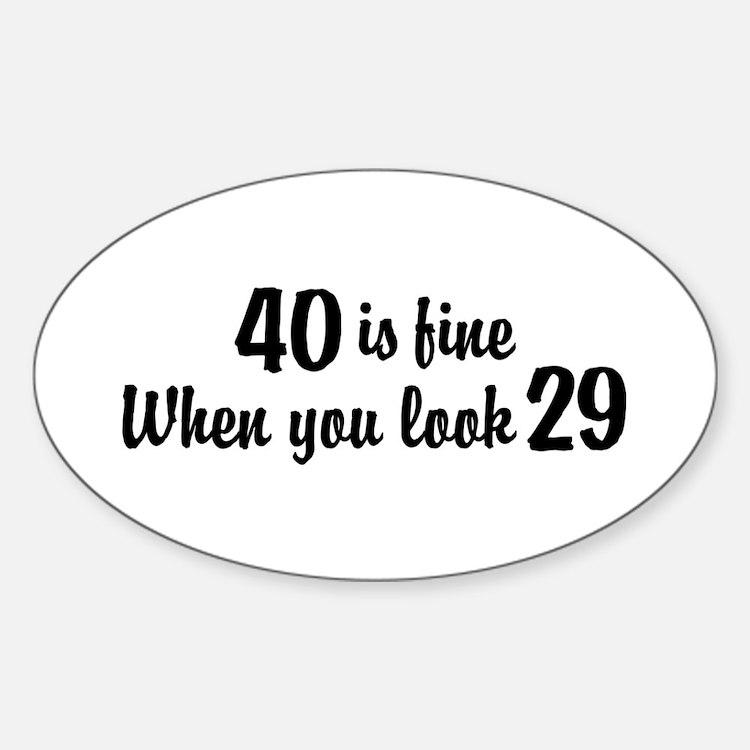 Funny 40Th Birthday Funny 40th Birthday Car Accessories ...